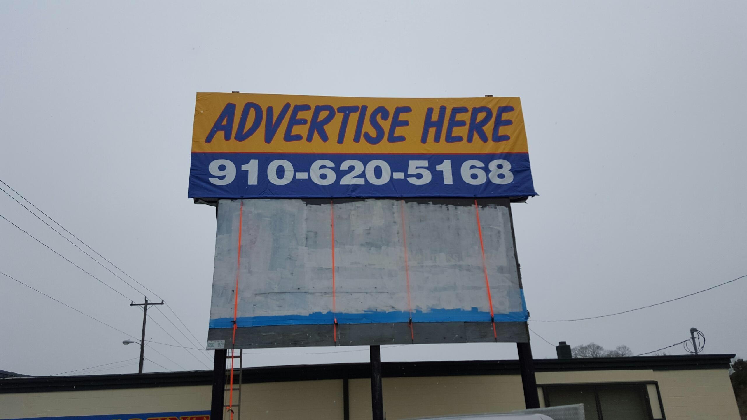 Hwy 74 billboard