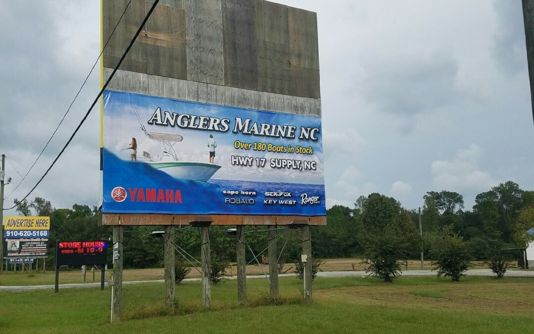 Carolina Coast Harley Davidson Shallotte, NC Billboard Advertising