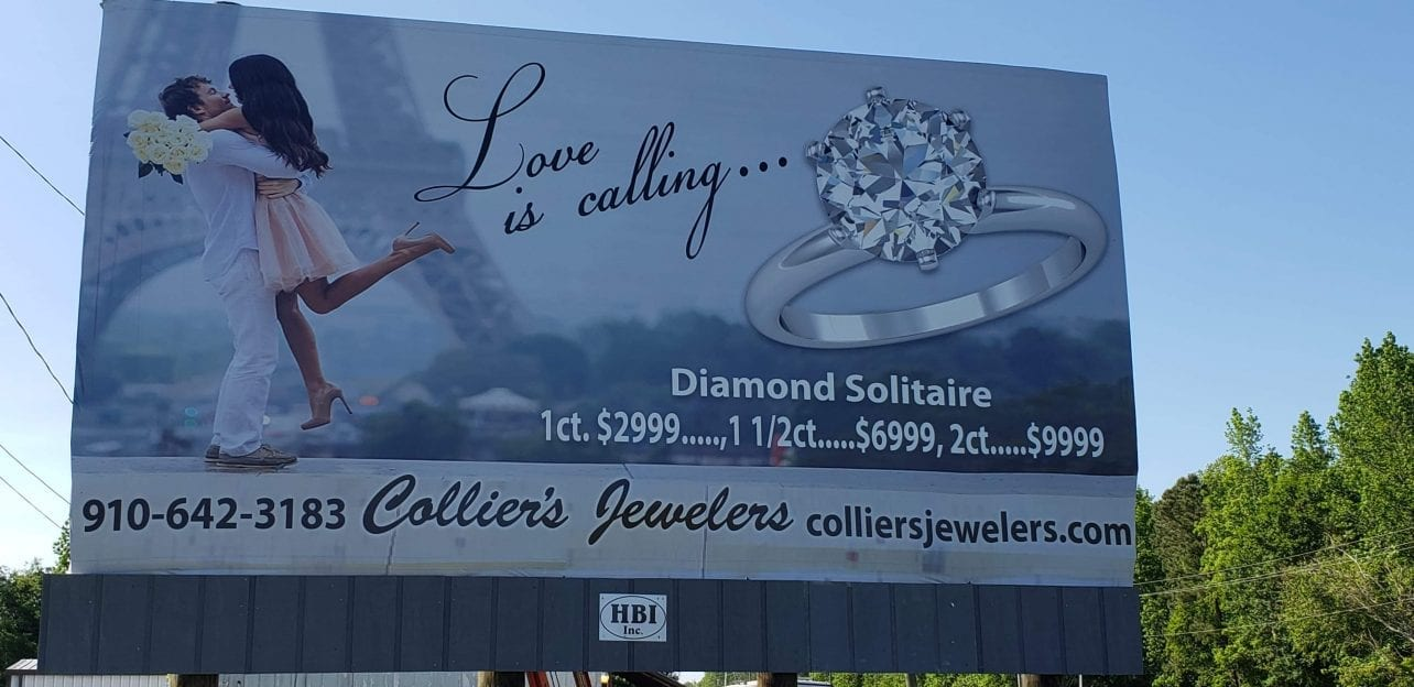 Grey Outdoor Acquires Whiteville NC Billboards