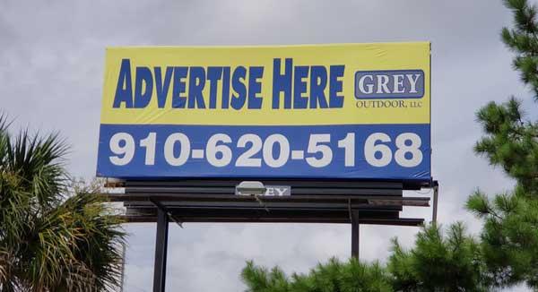 Surf City Billboard For Rent