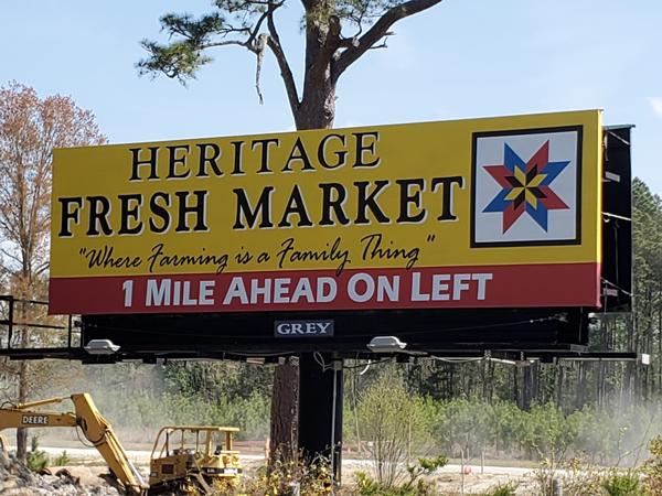 Heritage Billboard